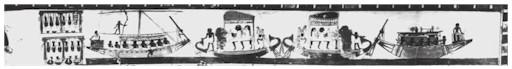 Egytian history of ceremonial boats