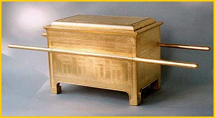 Scale model of Ark of the Covenant