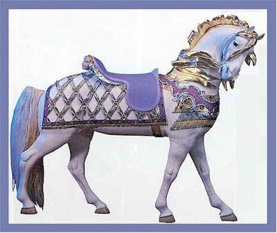 Bronze Sculpture Of Carousel Horse Preserving America S