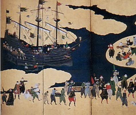 17th century japanese byobu