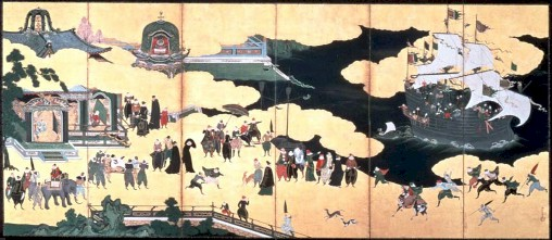 arrival of the Jesuits in Japan 1549