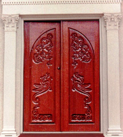 Ecclesiastical Art, Christian Iconography And Symbolism, On Doors:
